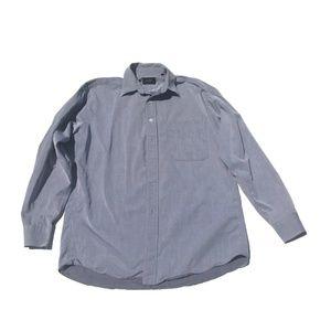 HUGO BOSS Men's Long Sleeve Gray Button Down Shirt